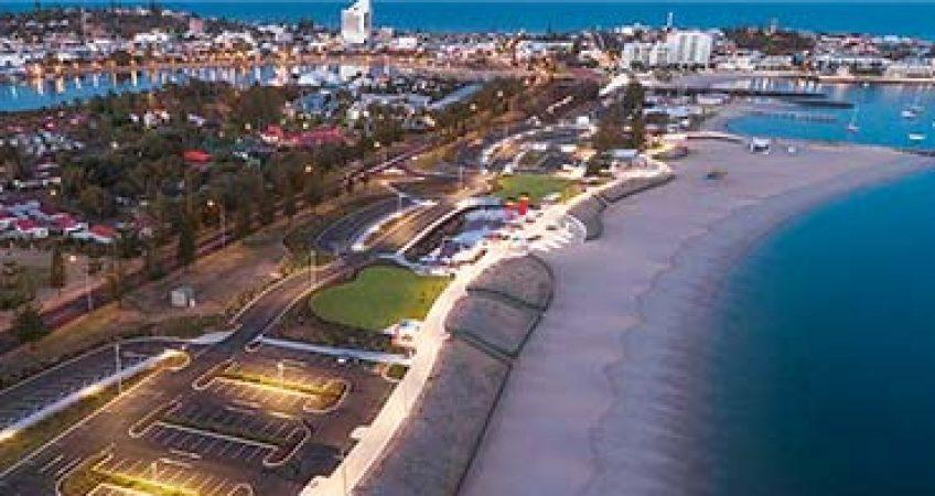 Bunbury Aerial view Western Australia